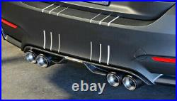 1 PAIR Left+Right 63mm /89mm Carbon Fiber Dual Exhaust Pipe Tail Car Muffler Tip