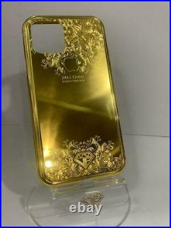 24kt Gold Luxury Ornament Edition Magnetic Case for iPhone 11 Pro Max