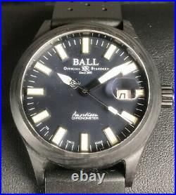BALL Engineer III Carbolight Midnight Blue Limited Edition Carbon Fiber Case