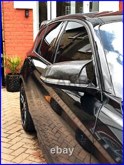 BMW 1 Series F20 F21 Carbon Fibre Wing Mirror Cover Replacement M Sport Style