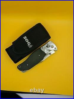 Brand New Sog Tomcat 3.0 Limited Edition! Never Used! With Clip Case