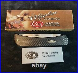 CASE XX Large Sodbuster Carbon Fiber Knife 42943 NEW IN BOX / With Paper