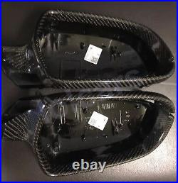 For 2010-2012 Audi A3 S3 RS3 Carbon Fiber wing mirror covers Replacement OEM fit