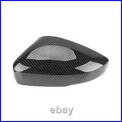 For 2014-2017 VW Polo 6C Gti Tdi Se Carbon Fibre Wing Mirror Covers Replace Caps