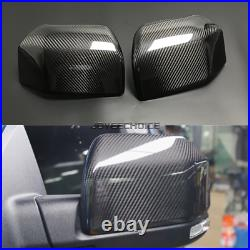 For Ford F150 F-150 Raptor 2015-19 LHD Real Carbon Fiber Mirror Cover Shell Case
