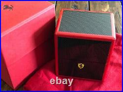 Genuine Ferrari Carbon Fiber Playing Card Case Extremely RARE Breathtaking piece