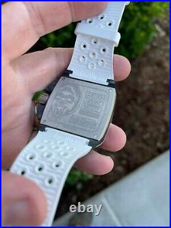 Gorilla Fastback RS White 44mm Forged Carbon Case Automatic Movement Brand New