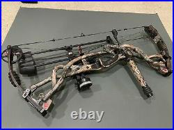 Hoyt Carbon Element RKT XT Right Hand Bow 50-60lb with 26 Draw and a case