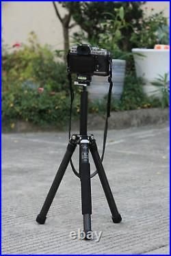 Marsace XT-15 Carbon Fiber Travel Tripod Professional with Panoramic Head Case