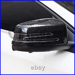 Mercedes C Class W204 Carbon Fibre Wing Mirror Covers Replacement