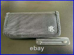 Monterey Bay Knives MBK EWC M390 With Carbon Fiber Handles with case