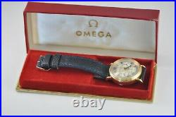 Omega vintage box case watch etui NOS New Old Stock