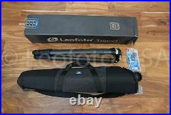 Open Box Leofoto LM-324CL Long Tripod with Video Bowl and Case