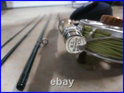 R. L Winston Pure 9' 5wt Fly Rod And ROSS ANIMAS Platinum REEL with Case