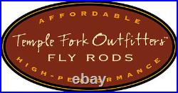 Temple Fork Outfitters Drift 9'-12'3 3 Wt 6pc Adjustable Fly Rod+case Free Ship