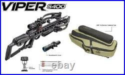 TenPoint Viper S400 with OMP Soft Case in Graphite NEW