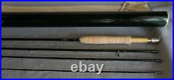 Winston Pure 4 Piece 9' Fly Rod 5wt with Aluminum Container & Sock MINT CONDITION